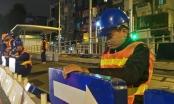 Hà Nội: Chính thức lắp dải phân cách cho Bus nhanh BRT