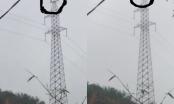 Phú Thọ: Người đàn ông cố thủ trên cột điện cao thế suốt nhiều giờ