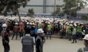 Clip: Công trường Samsung Bắc Ninh hỗn loạn vì ẩu đả
