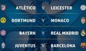 Kết quả bốc thăm tứ kết C1: Barcelona đối đầu Juventus