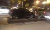 Hà Nội: Tài xế lái xe Innova gây tai nạn rồi bỏ chạy trên đường Lê Văn Lương