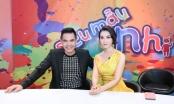 """Trung Dũng và MC Thanh Mai bị thí sinh """"đe dọa"""" trên sân khấu """"Siêu mẫu nhí"""""""