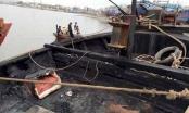 Thanh Hóa: Cứu thoát 3 thuyền viên gặp nạn cháy tàu trên biển