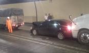 Va chạm liên hoàn giữa 3 xe trong hầm đường bộ Hải Vân
