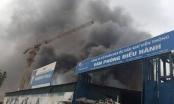 Toàn cảnh vụ cháy lớn ở Phạm Hùng