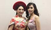 Phi Nhung, Thúy Vân chúc mừng Phan Quỳnh Ngân trở thành Á hậu