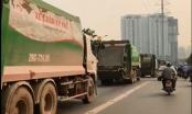 [Clip]: 4 xe chở rác rủ nhau lấn làn buýt nhanh BRT