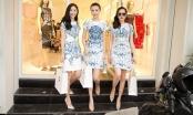 Ngọc Duyên, Diệu Linh và Hà Thu được NTK Lê Thanh Hòa chọn đồ dự fashion show