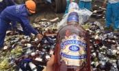 Hà Nội: Tổ chức tiêu hủy số lượng rượu lớn nhất trong lịch sử