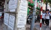 Phạt 10 triệu dán quảng cáo bừa: Có khả thi?