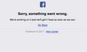 Facebook bất ngờ bị sập trong 30 phút