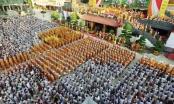 Clip: Hàng ngàn người dự lễ Phật đản tại TP Hồ Chí Minh