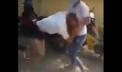 Hà Nam: Phẫn nộ nhóm nữ thanh niên đánh nhau trước cổng trường THPT Bắc Lý