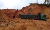 Địa bàn giáp ranh Bắc Giang - Lạng Sơn: Ngang nhiên khai thác đất trái phép, vì sao?