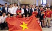 U20 Việt Nam về nước trong sự chào đón nồng nhiệt