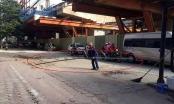 Cảnh cáo nhà thầu đường sắt Nhổn – ga Hà Nội sau vụ rơi thanh sắt xuống đường