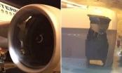 """Máy bay Trung Quốc bị """"thủng vỏ động cơ"""""""
