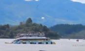 Video: Hiện trường vụ chìm tàu chở khách ở Colombia, ít nhất 9 người chết