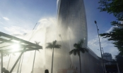 Diễn tập chữa cháy, cứu nạn tại tòa nhà Trung tâm hành chính Đà Nẵng
