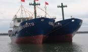 Quảng Nam: Hạ thủy hai tàu vỏ thép mới có tổng đầu tư trên 32 tỷ đồng