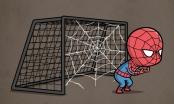 Chùm ảnh hài hước khi các siêu anh hùng chơi thể thao