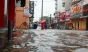 Huế: Nhiều tuyến đường ngập nặng do ảnh hưởng bão số 4