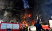 Video: Cháy lớn trạm biến áp gần công ty Samsung Thái Nguyên