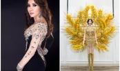 Hoa hậu mang hơn 20kg... lúa đến đấu trường Mrs Universe 2017