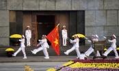 Video: Linh thiêng Lễ chào cờ trên quảng trường Ba Đình trong buổi sáng 2/9