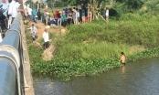Thai phụ ôm 2 con thơ nhảy cầu tự vẫn, nỗ lực tìm kiếm 2 cháu nhỏ mất tích