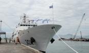 Cận cảnh tàu huấn luyện Badaro của Hàn Quốc tại Đà Nẵng
