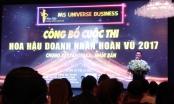 """TP HCM: Nhiều dấu hiệu mập mờ tại buổi công bố cuộc thi """"Hoa hậu doanh nhân hoàn vũ 2017"""""""