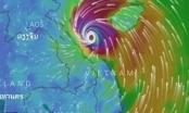 Báo động đỏ về bão số 10: Cách Hà Tĩnh, Quảng Bình tầm 100 km