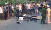 Hà Nội: Điều khiển xe máy tông vào xe tải, hai thanh niên tử vong tại chỗ