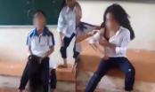 Nữ sinh cấp 2 bị bạn đánh hội đồng ngay trong lớp học