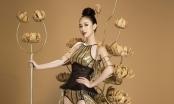 Hà Thu hóa thân thành Chiến binh hoa tại Hoa hậu Trái Đất 2017