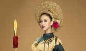 Hà Thu mang câu chuyện Hai Bà Trưng đến Miss Earth 2017
