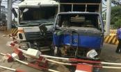 Đắk Lắk: Xe tải  mất thắng lao thẳng vào xe đang mua vé tại BOT Quang Đức
