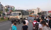 Hà Nội: Đang đi xe máy, người đàn ông bất ngờ bị xe tải cán qua người tử vong