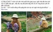 Xót xa hình ảnh cụ bà neo đơn ngồi thất thần trước căn nhà bị đổ sập sau cơn bão số 12