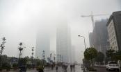 Lý do Hà Nội chìm trong sương mù 2 ngày cuối tuần