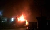 Đắk Lắk: Cây xăng bất ngờ bùng cháy trong đêm