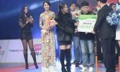 Hoa hậu Tường Linh diện áo dài sang Hàn Quốc quay hình cho đài SBS