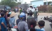 TP HCM: Va chạm với xe tải, 1 bảo vệ tử vong