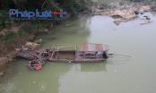 Hà Giang: Cát tặc đội lốt xây dựng nông thôn mới đục khoét sông Lô