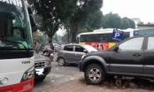 Hà Nội: Trông giữ xe trái phép hoạt động ngầm tại phường Nguyễn Du