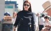 Hoa hậu Phạm Hương diện set đồ hiệu sang trọng gây chú ý tại sân bay