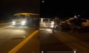 Nhóm thanh niên chặn xe, xin đểu tài xế trên cao tốc Hà Nội - Lào Cai là người thế nào?