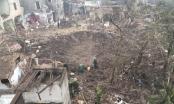 Hố sâu 2m, rộng hơn 40m tại tâm vụ nổ kinh hoàng ở Bắc Ninh