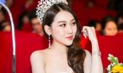 Hoa hậu Hoàng Kim xuất hiện rạng rỡ, lần đầu làm giám khảo tại cuộc thi nhan sắc